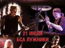 Metallica Москва 21/07