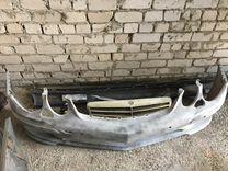 Бампер, решетка, туманка, пороги Mercedes E w211