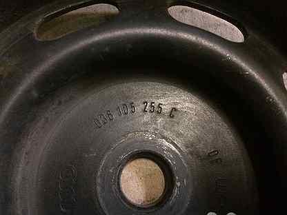 Шкив коленвала VW Golf-4 1.4 AKQ 036105255c
