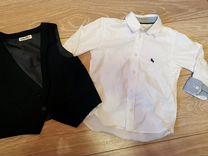 Рубашка и жилетка H&M