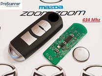 Ключ зажигания Mazda CX-3, CX-5, Axela, Atenza